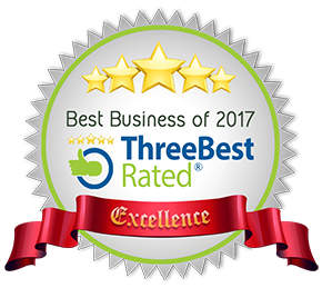Three Rated Best Business 2017